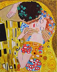 Gustav Klimp The Kiss