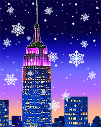 snowy empire state