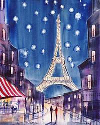 starry night paris